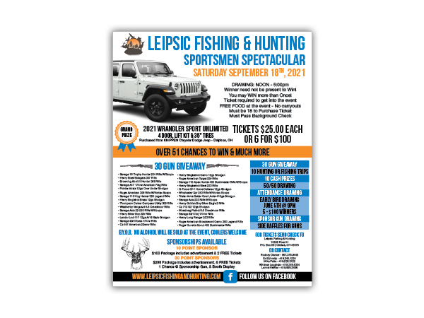 Leipsic Event Poster