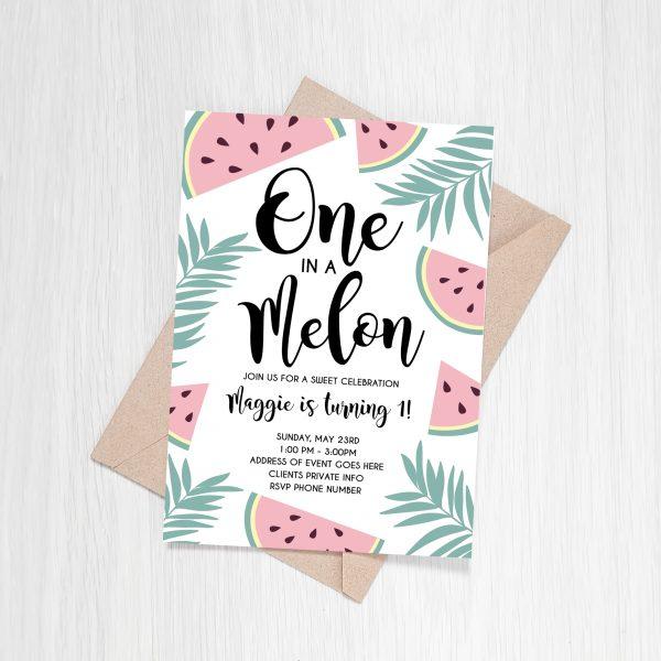 One In A Melon – Custom Invite