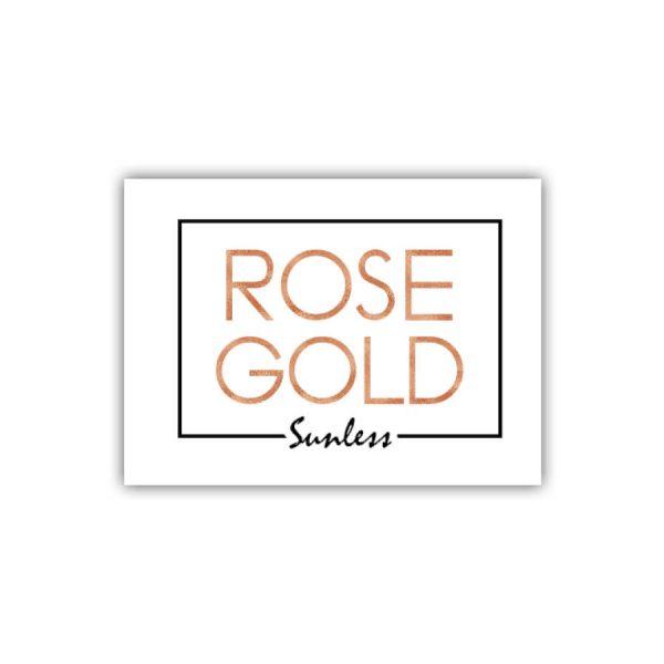 Rose Gold Logo & Packaging